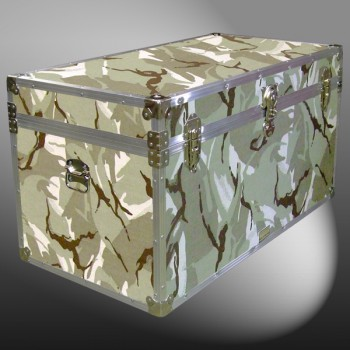 04-161 DSE DESERT STORM CAMO 38 Deep Storage Trunk with Alloy Trim