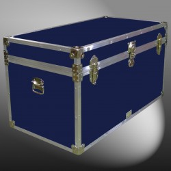 04-112 RE NAVY 38 Deep Storage Trunk with Alloy Trim