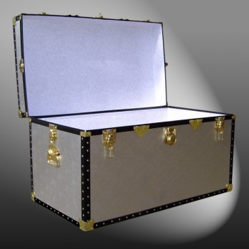 04-100 AS ALLOY 38 Deep Storage Trunk with ABS Trim