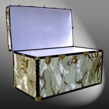 04-160 DS DESERT STORM CAMO 38 Deep Storage Trunk with ABS Trim