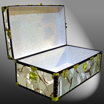 06-148 DS DESERT STORM CAMO 36 Cabin Storage Trunk with ABS Trim