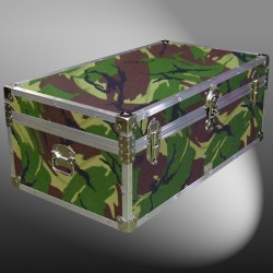 06-145 JCE JUNGLE CAMO 36 Cabin Storage Trunk with Alloy Trim