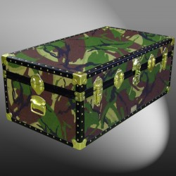 06-144 JC JUNGLE CAMO 36 Cabin Storage Trunk with ABS Trim