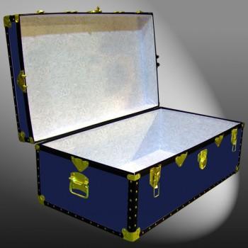 06-087 R NAVY 36 Cabin Storage Trunk with ABS Trim