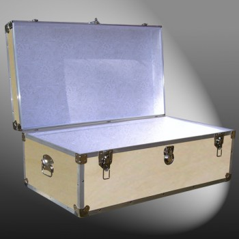 06-077 WE WOOD 36 Cabin Storage Trunk with Alloy Trim