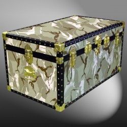 07-147 DS DESERT STORM CAMO 33 Deep Storage Trunk with ABS Trim