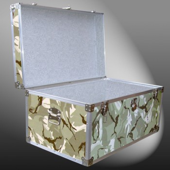 07-148 DSE DESERT STORM CAMO 33 Deep Storage Trunk with Alloy Trim