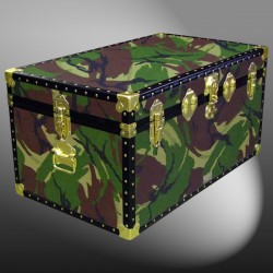 07-143 JC JUNGLE CAMO 33 Deep Storage Trunk with ABS Trim