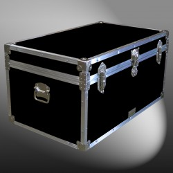 07-093 RE BLACK 33 Deep Storage Trunk with Alloy Trim