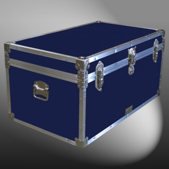 07-092 RE NAVY 33 Deep Storage Trunk with Alloy Trim