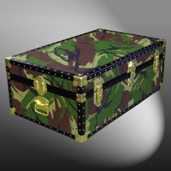 08-141 JC JUNGLE CAMO 33 Cabin Storage Trunk with ABS Trim