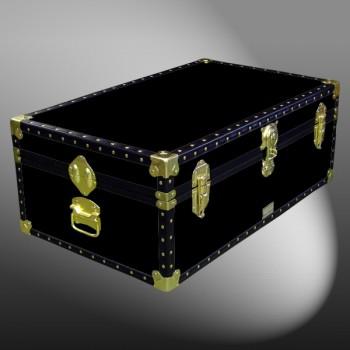 08-086 R BLACK 33 Cabin Storage Trunk with ABS Trim