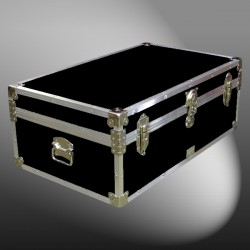 09-091 RE BLACK 30 Cabin Storage Trunk with Alloy Trim