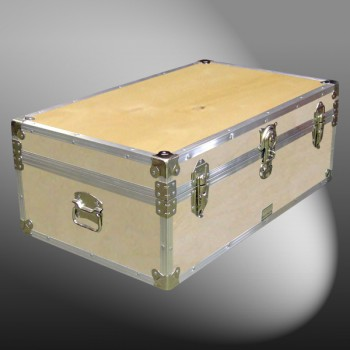 09-074 WE WOOD 30 Cabin Storage Trunk with Alloy Trim