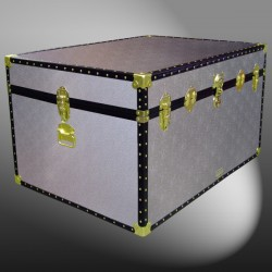 01-137 AS ALLOY Super Jumbo Storage Trunk with ABS Trim