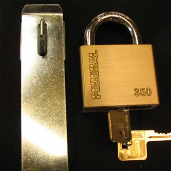 Extra Secure Hasp & Staple