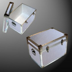 13-071 AE ALLOY  LP 150 Storage Trunk with Alloy Trim