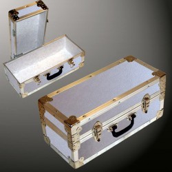 16-062 AE ALLOY Single 100 Storage Trunk with Alloy Trim