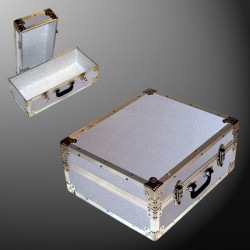 17-065 AE ALLOY Single 200 Storage Trunk with Alloy Trim