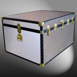 02-127 AS ALLOY Jumbo Storage Trunk with ABS Trim